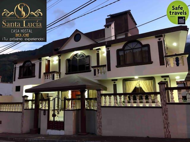 Baños de Agua Santa的民宿