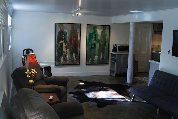 Artist apartment
