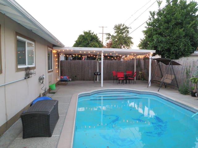 Stylish San Jose Home with a Pool!