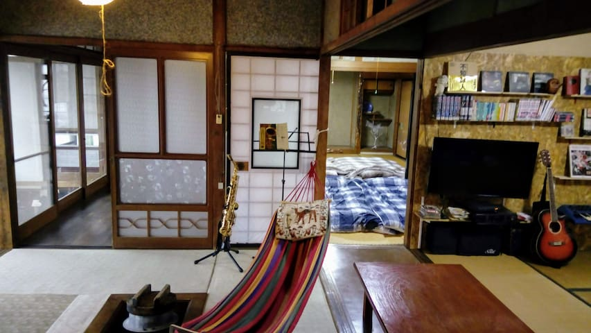 """Traditional Japanese house and garden """"HACHI"""""""