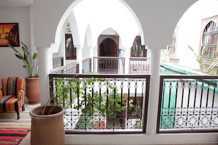 Riad à vous seuls au coeur de Marrakech