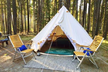 Bohemian Dreams- Luxury Tent in Banff Region