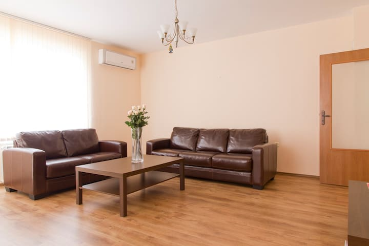 Luxurious cosy 1 double bed apart Sofia Mladost 2