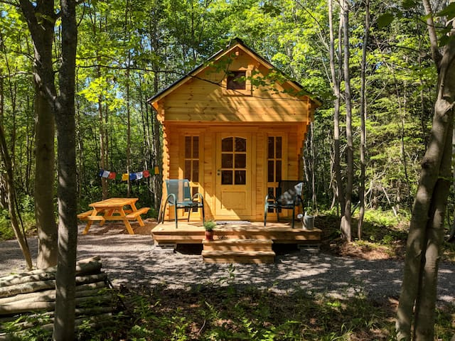 Private cabin in the woods