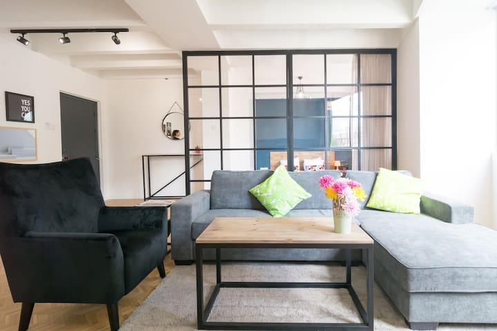 Nicosia Modern Stylish Apartment in Central Area