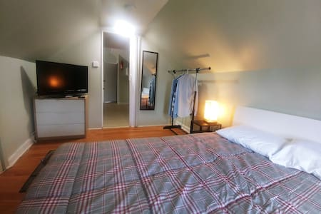 ✈ Nice Cozy Apt Next to NYC bus / NWK Airport