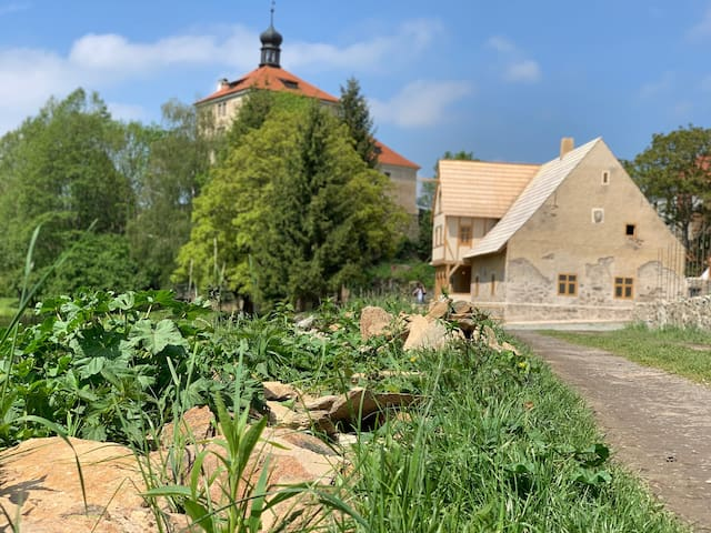 Malešov的民宿