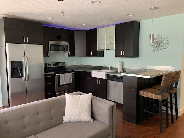 4 - Modern clean apartment in downtown Omaha