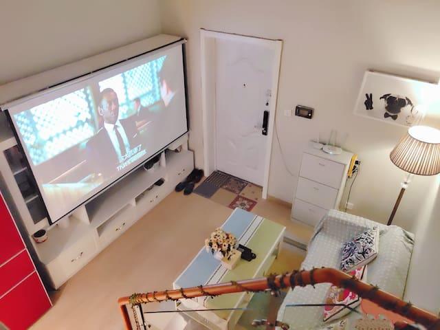 温暖美舍 火车东站边双地铁 西湖 钱江新城 国际会展中心,奥体中心半小时抵达 精装酒店式公寓loft