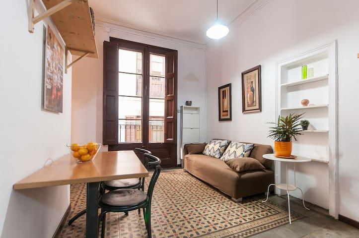 Apartamento de una habitación en el gótico de BCN