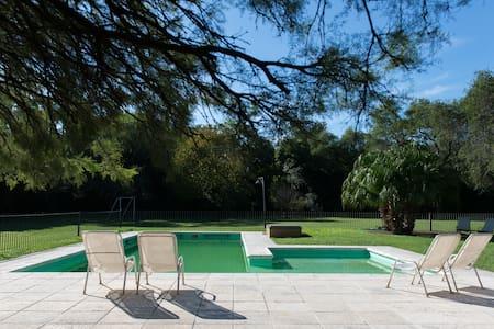 En Córdoba. Oasis entre cuidad y Sierras Chicas.