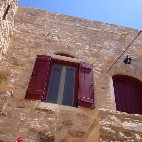 Traditional house in Patrika Chios.