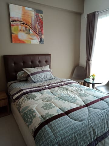 Higher Ground Apartment Bandung (brown)