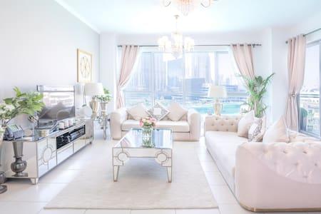 Elite Royal Suit 2+1BR, fully facing Burj Khalifa