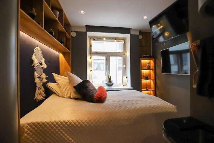 Luxury minimalist apartment 14 m2