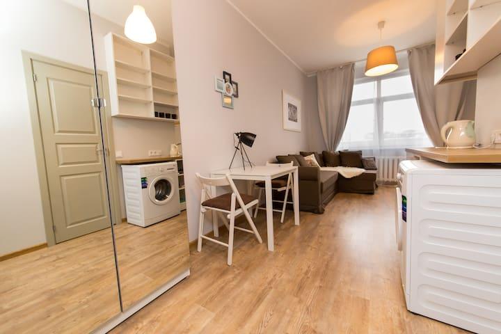 Vilnius center apartment, Autumn