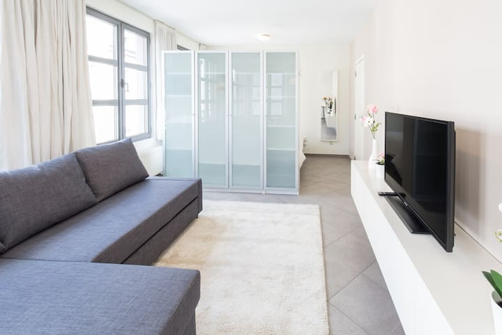 Top located, fully equipped, 50m2 flat (1st floor)