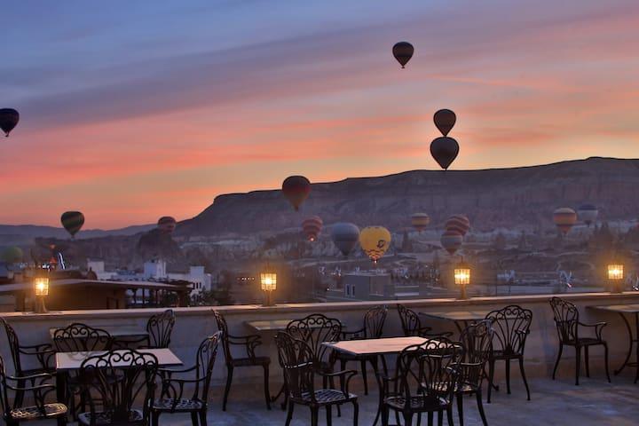 Goreme-Cappadocia的民宿