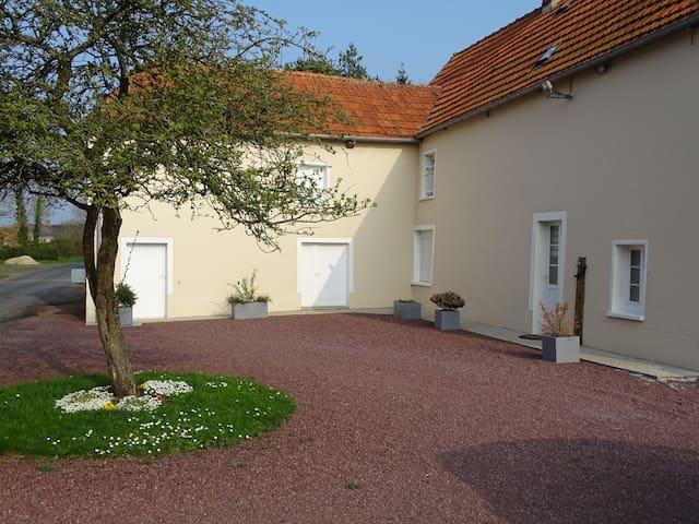 Graignes-Mesnil-Angot的民宿