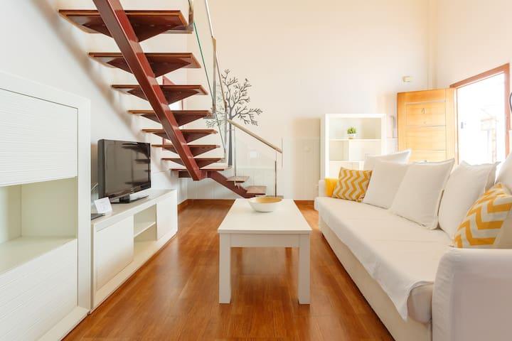 One-Bedroom Duplex