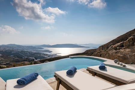 Mykonos Divino 1 bd Sea View Villa - private pool