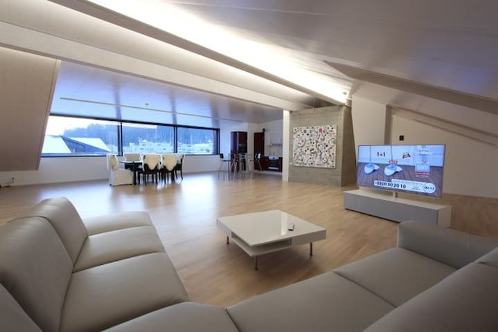 Spacious and cozy apartment in Tafers (Fribourg)