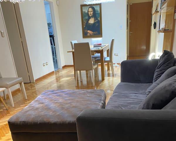 Luxury apartm BNorte 4bedroom,5guest,garage&balcon