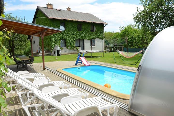 Luxury Villa in Zelenecka Lhota with Private Pool