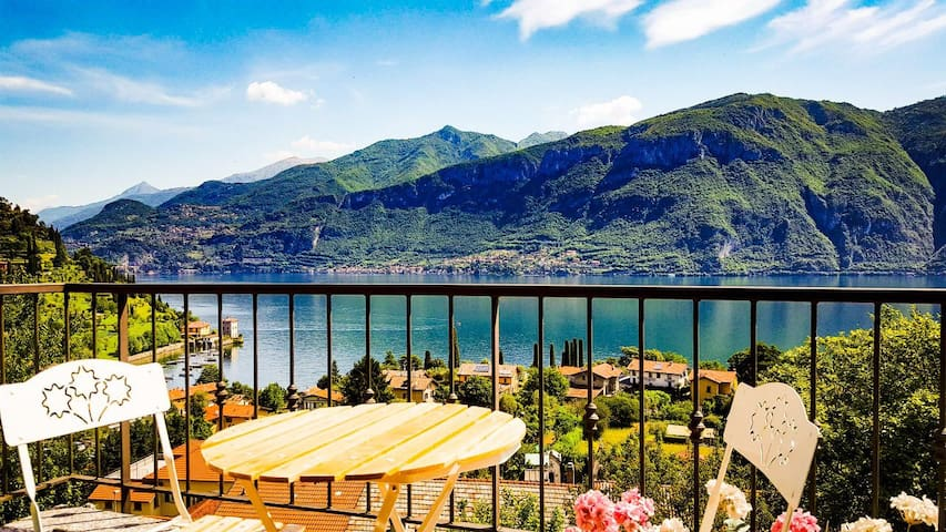Lakeview apartment in the centre of Bellagio