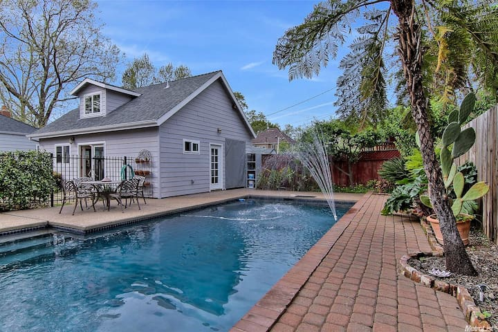 Voted Top Home: Garden Oasis with Salt Water Pool!