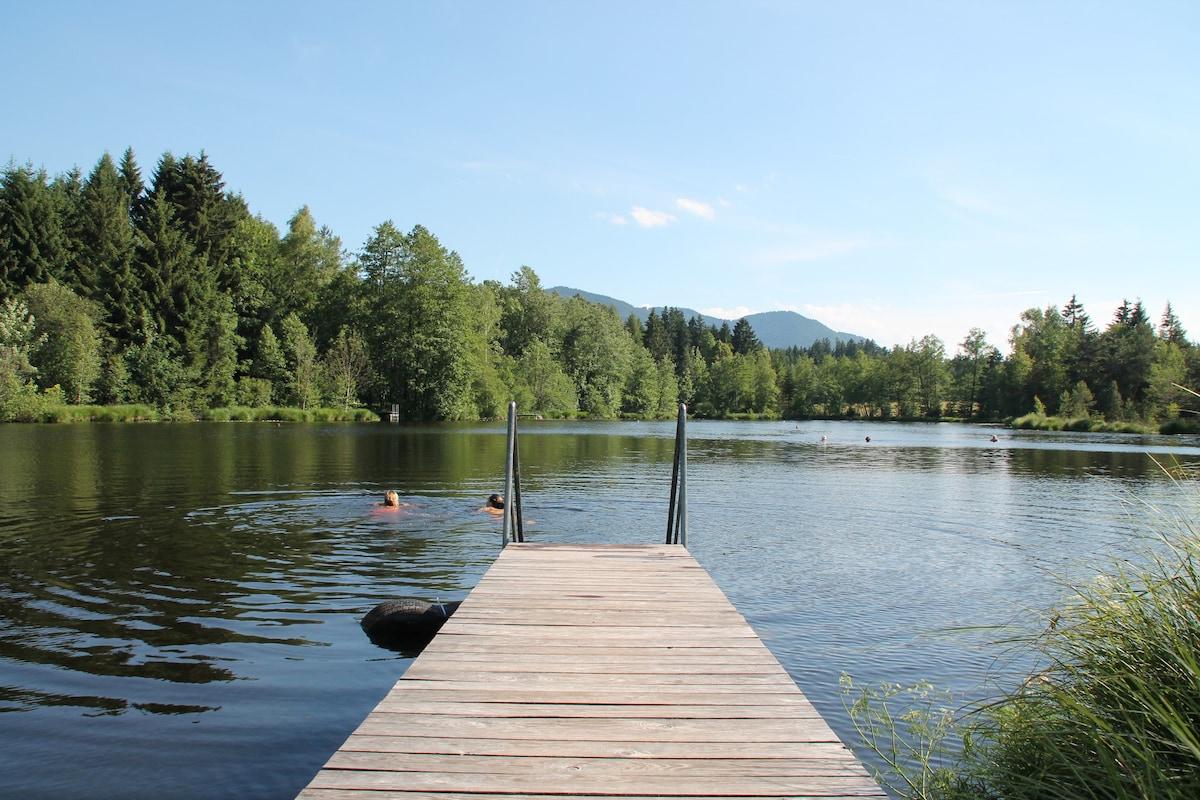 Urlaub auf dem Langerhof-Seeblick