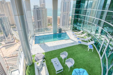 5BR Marina Penthouse I Private Pool & Terrace