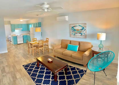 Atlantic Oasis, Steps To The Beach &Covered Porch!