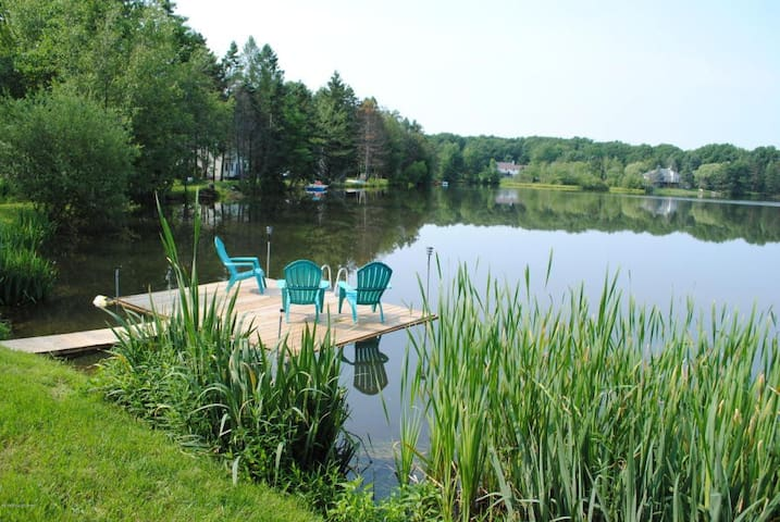 Charming Lakefront, Relaxing view. Paddle boat.