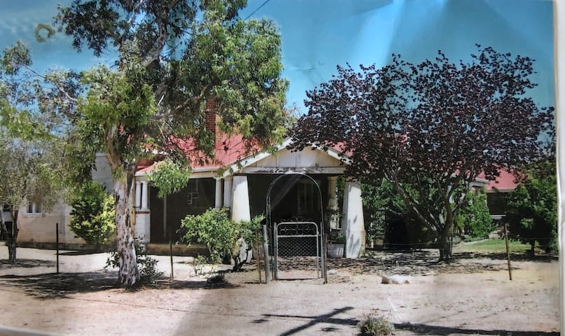 Pink Lakes Quairading  'Almost heritage listed '