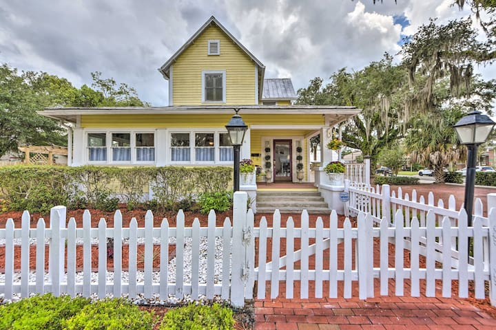 NEW! Charming Historic Home - Walk to Waterfront!