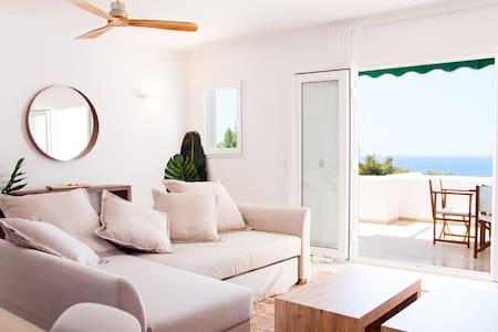 Sea-view design apartment in Son Bou, Menorca