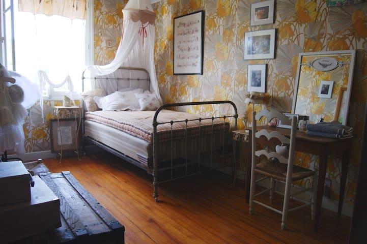 La chambre à fleurs