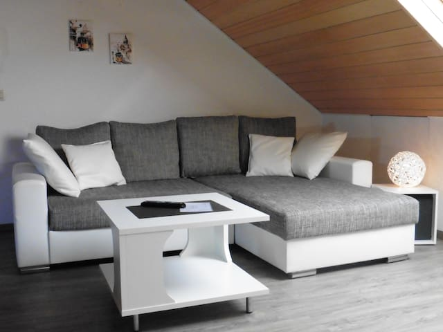 a modern and comfortable atttic flat -