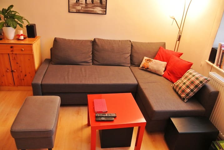 Comfortable shared room near the downtown