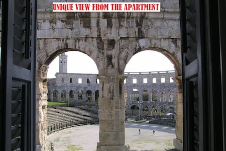 Apartment Gladiator - almost inside the Arena!