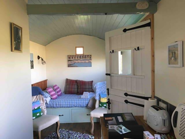 Northumbrian Pride, Shepherd's Hut, Lowick