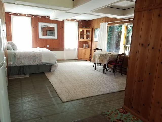 Knotty pine studio one mile from U of O
