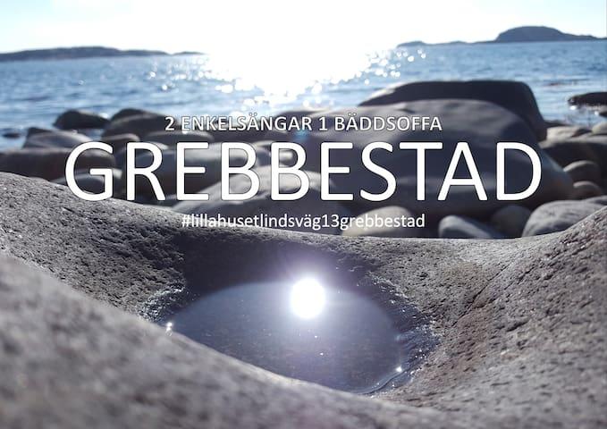 Nära strand och centrum - GREBBESTAD
