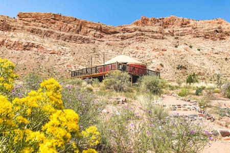 Yurt Overlooking the Chama River in Abiquiu