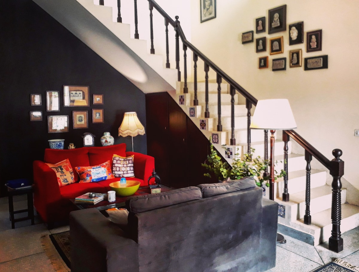 Old charm with comforts of a modern lifestyle