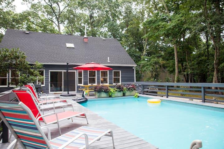 Secluded Home w/Pool in Heart of LI Wine Region!
