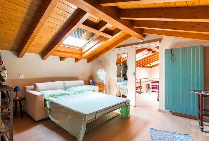 Cosy room in the attic