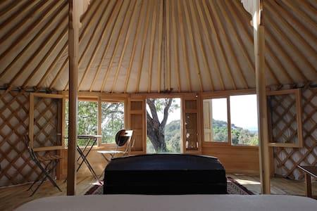 Yurt inside a natural park near the beach