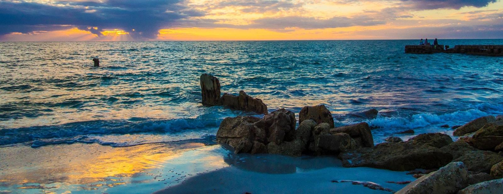 珊瑚角的度假屋